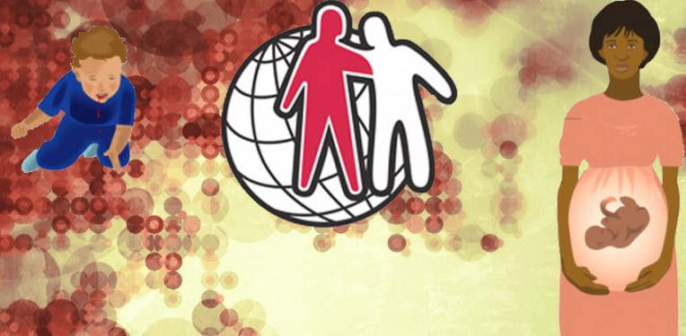 "Background (CC: The Paessel Family) built on with Graphics from the World Federation of Hemophilia (Source: WFH ""Hemophilia  in Pictures"" Educational Resource"")"