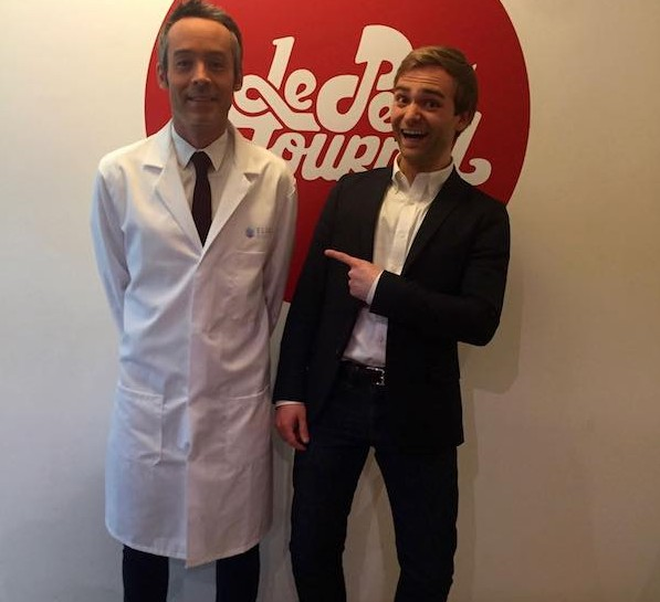 Young CEO is making Biotech Popular on French TV