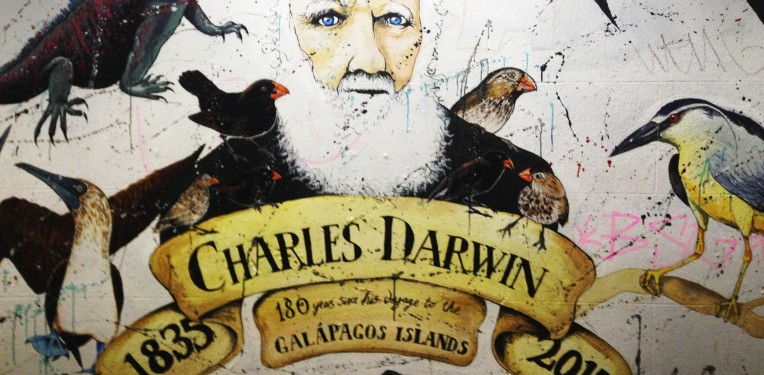 charles-darwin-bristol-graffiti-origin-species-bioart-simon-park