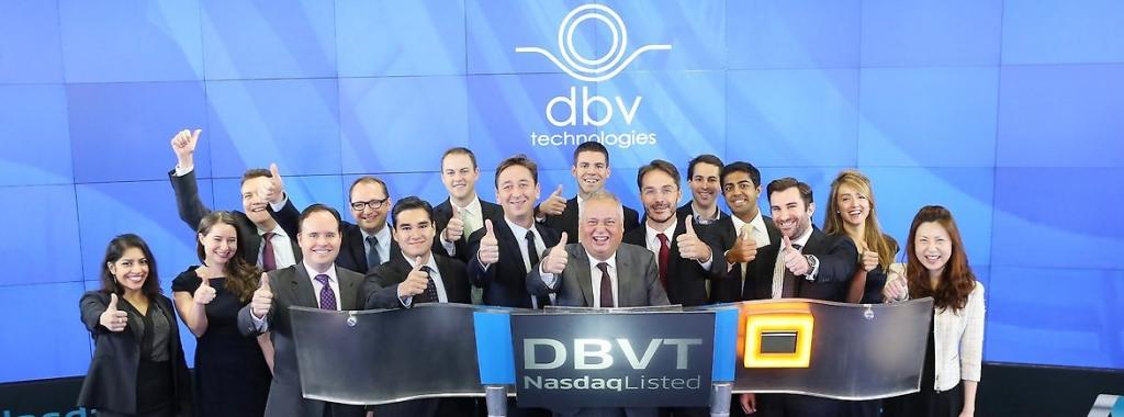 billion euro biotech DBV nasdaq biotech tecnologies