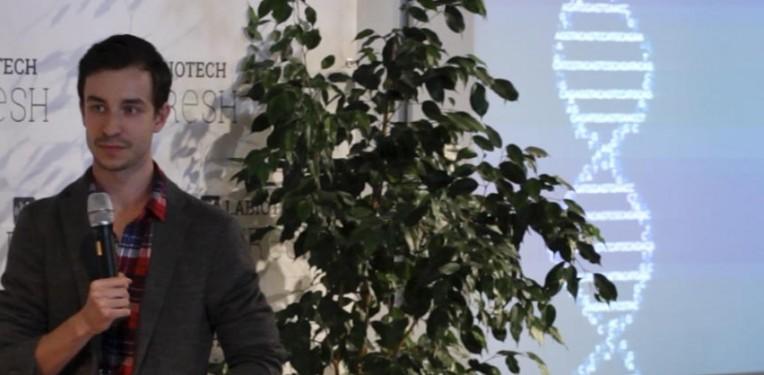Desktop Genetics CRISPR Edward Perello Startup