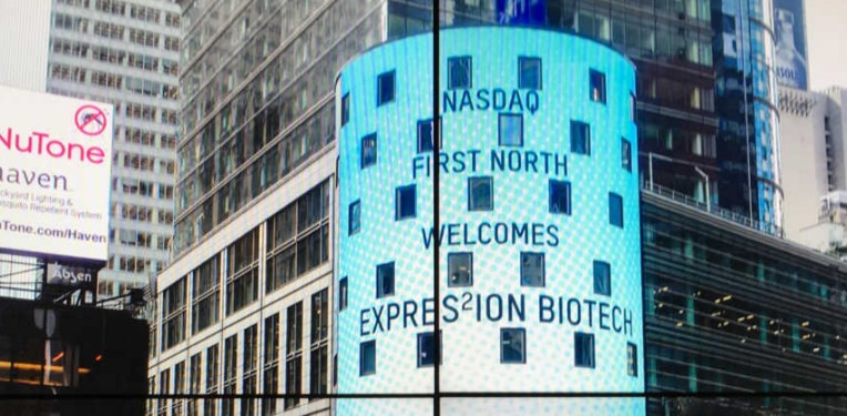 expres2ion nasdaq stockholm first north