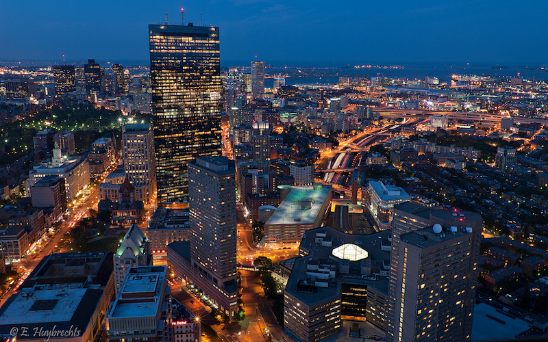 Figure 3. And where are the companies? In Boston, of course!