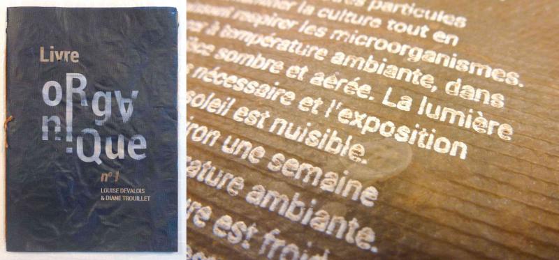 livre organique Diane Trouillet