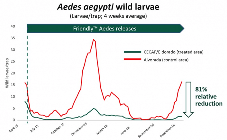 Oxitec Zika Dengue Brazil graph