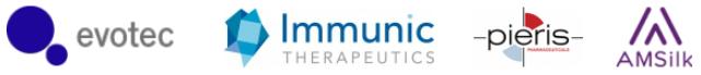 IZB munich evotec immunic pieris amsilk