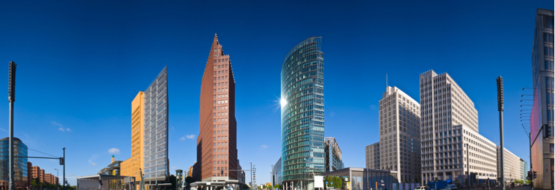 The Potsdamer Platz in the heart of Berlin is home to both Pfizer's and Sanofi's offices