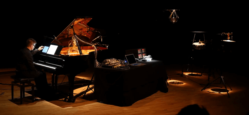 Performance at the Peninsula Arts Contemporary Music Festival 2016