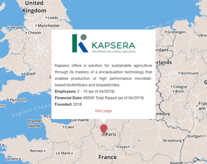 kapsera fertilizers agriculture microbiome